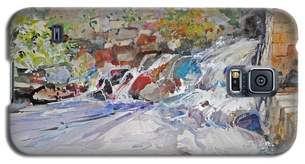 Grist Mill Spill Way Galaxy S5 Case