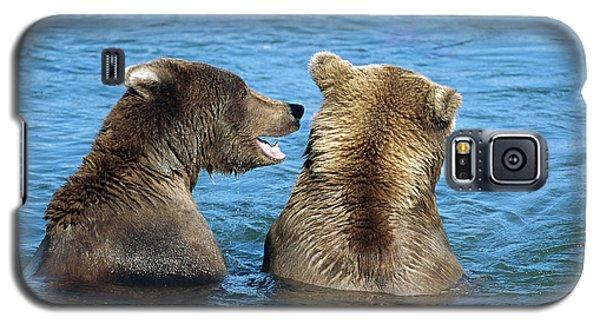 Grizzly Bear Talk Galaxy S5 Case