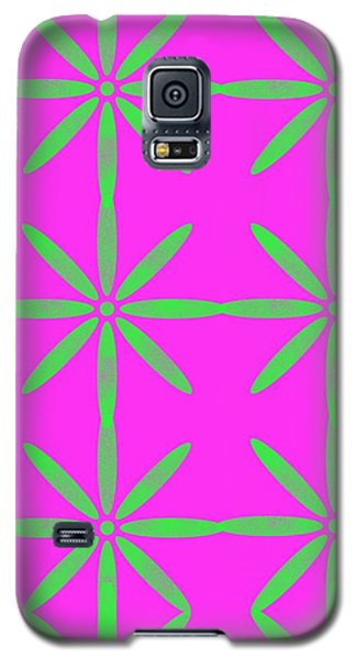 Groovy Flowers Galaxy S5 Case