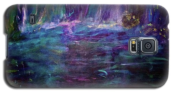 Galaxy S5 Case featuring the painting Grotto by Heidi Scott