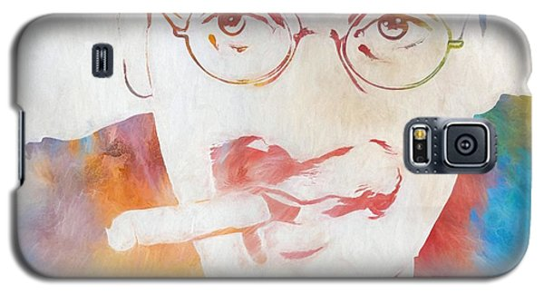 Johnny Carson Galaxy S5 Case - Groucho Marx by Dan Sproul