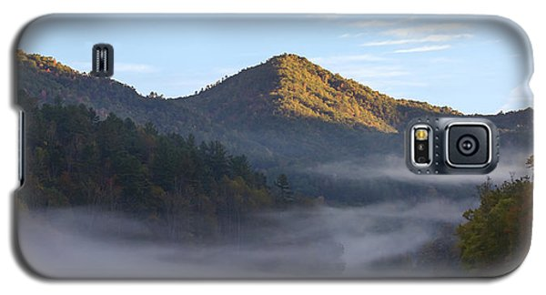 Ground Fog In Cataloochee Valley - October 12 2016 Galaxy S5 Case