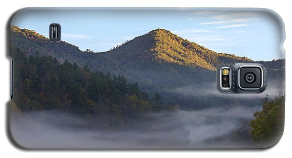 Ground Fog In Cataloochee Valley - October 12 2016 Galaxy S5 Case