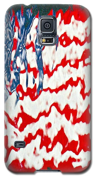 Ground Zero Reflection Of The American Flag Galaxy S5 Case
