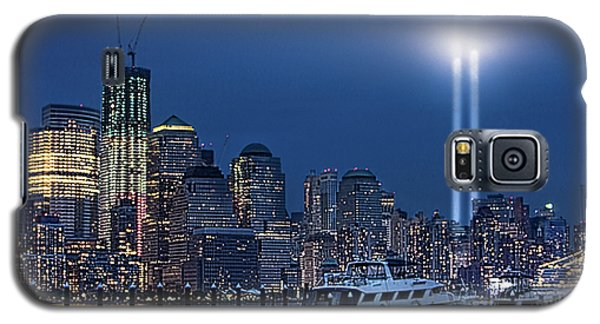 Ground Zero Tribute Lights And The Freedom Tower Galaxy S5 Case