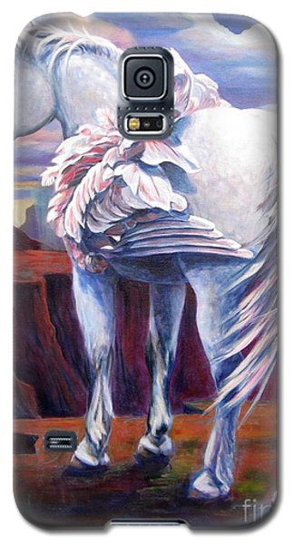 Galaxy S5 Case featuring the painting Grounded by Pat Burns