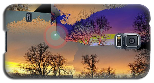 Galaxy S5 Case featuring the digital art Grounds For Treezone by John Norman Stewart