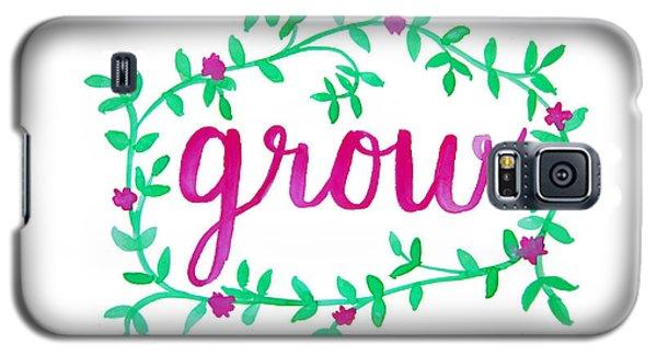 Garden Galaxy S5 Case - Grow by Michelle Eshleman