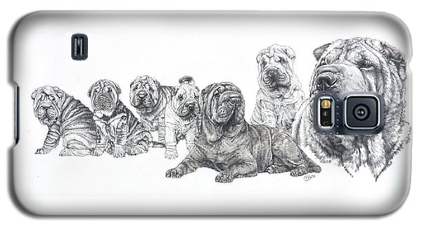 Mister Wrinkles And Family Galaxy S5 Case