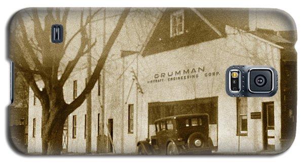 Grumman Baldwin Garage Galaxy S5 Case