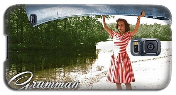 Grumman Canoe Galaxy S5 Case