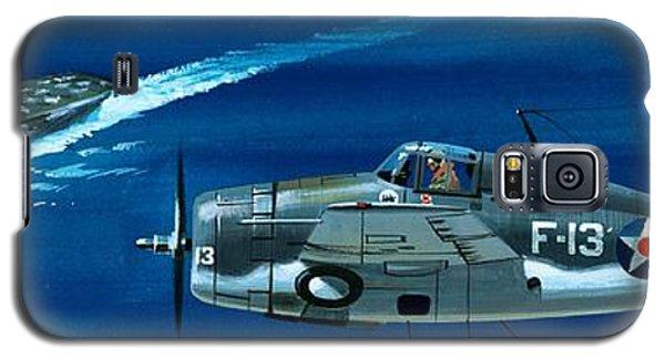 Airplane Galaxy S5 Case - Grumman F4rf-3 Wildcat by Wilf Hardy