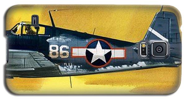 Airplane Galaxy S5 Case - Grumman F6f-3 Hellcat by Wilf Hardy