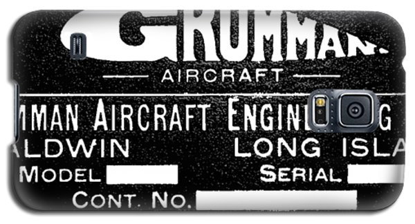 Grumman Product Plate Galaxy S5 Case