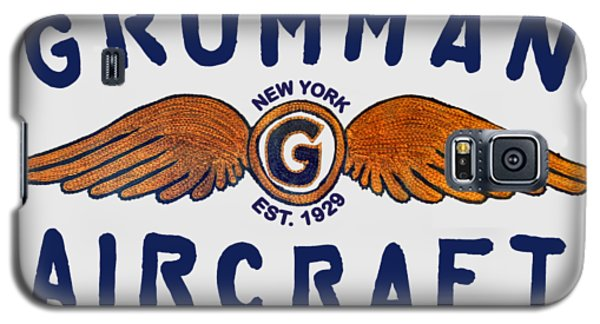 Grumman Wings Blue Galaxy S5 Case