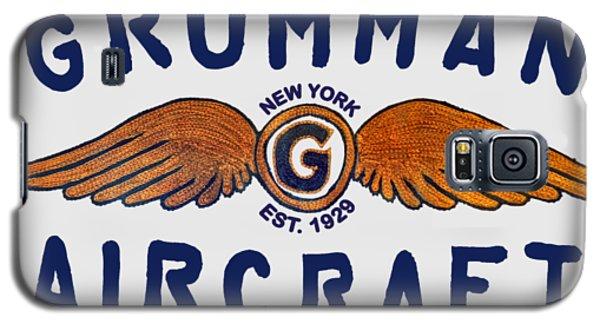 Grumman Wings Blue Galaxy S5 Case