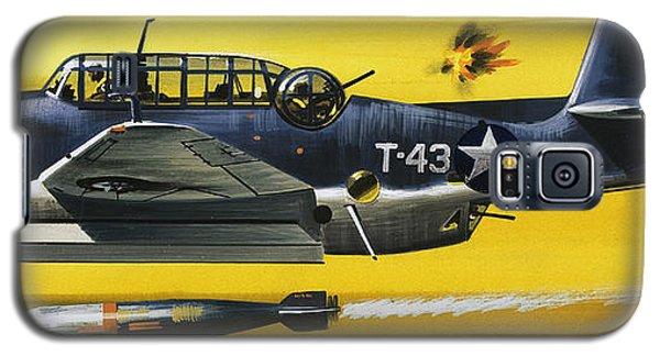 Grummen Tbf1 Avenger Bomber Galaxy S5 Case by Wilf Hardy