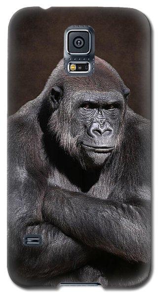 Grumpy Gorilla Galaxy S5 Case