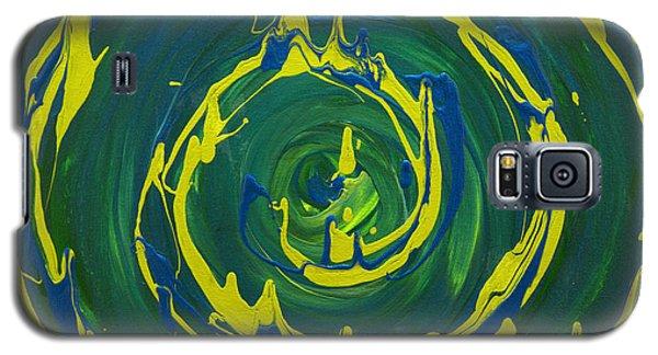 Guacamole Swirl Galaxy S5 Case