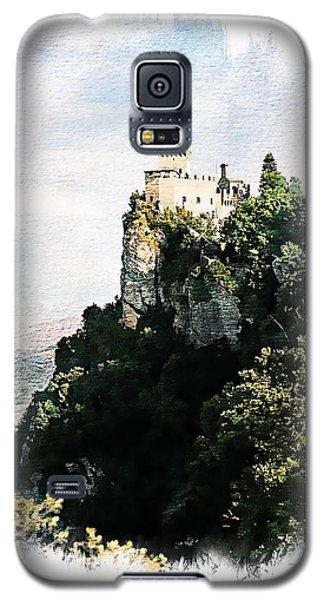 Galaxy S5 Case featuring the photograph Guaita Castle Fortress by Joseph Hendrix