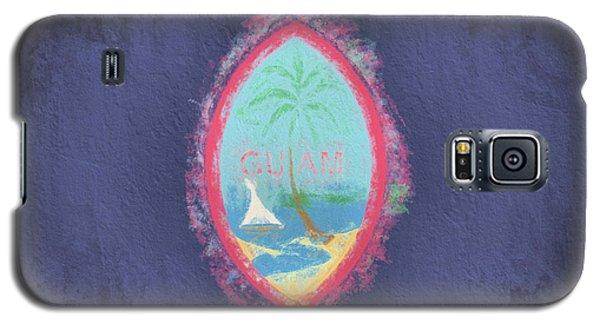 Galaxy S5 Case featuring the digital art Guam Flag by JC Findley