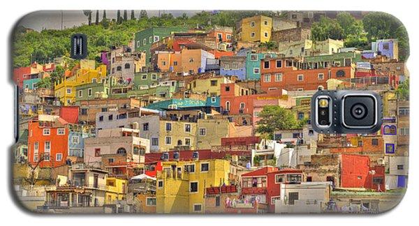 Guanajuato Hillside Galaxy S5 Case by Juli Scalzi