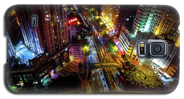 Guangzhou City Streets At Night Galaxy S5 Case