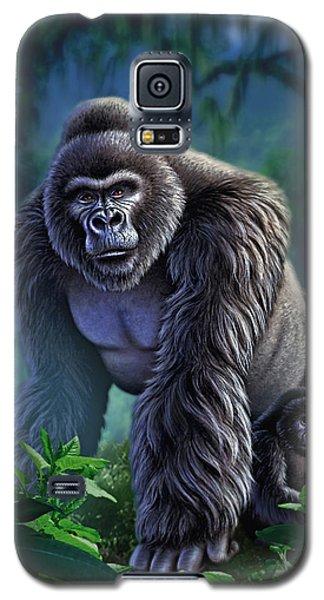 Gorilla Galaxy S5 Case - Guardian by Jerry LoFaro