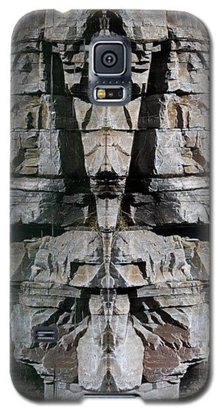 Galaxy S5 Case featuring the photograph Guardians Of The Lake by Cathie Douglas
