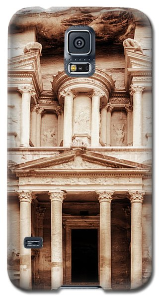 Guarding The Petra Treasury Galaxy S5 Case