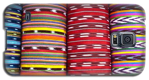 Guatemalan Textiles 2 Galaxy S5 Case