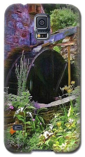 Guernsey Moulin Or Waterwheel Galaxy S5 Case by Bellesouth Studio