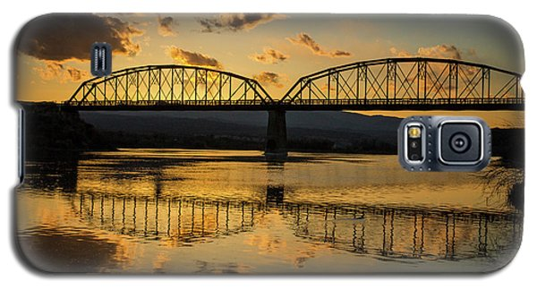 Guffey Bridge At Sunset Idaho Journey Landscape Photography By Kaylyn Franks Galaxy S5 Case