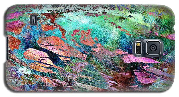 Guided By Intuition - Abstract Art Galaxy S5 Case