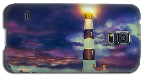 Galaxy S5 Case featuring the painting Guiding Light by Dan Carmichael