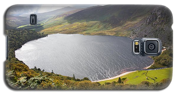 Guinness Lake In Wicklow Mountains  Ireland Galaxy S5 Case by Semmick Photo