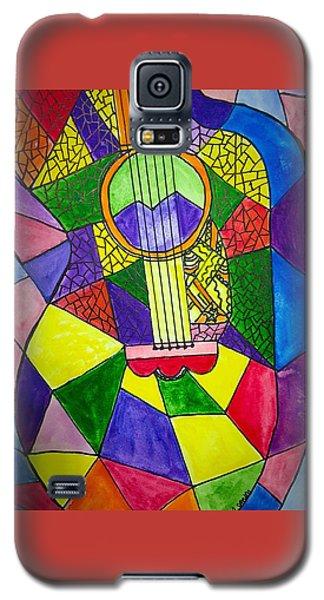 Guitar Abstract Galaxy S5 Case