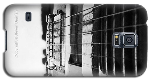 The Guitar  Galaxy S5 Case by Steven  Digman