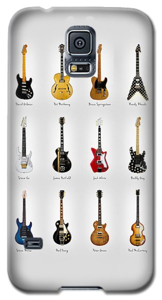 Neil Young Galaxy S5 Case - Guitar Icons No2 by Mark Rogan