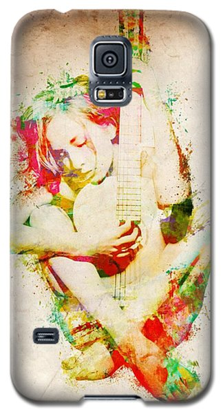 Guitar Lovers Embrace Galaxy S5 Case by Nikki Smith