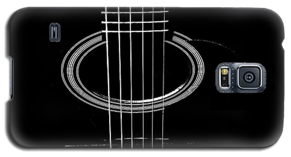 Guitar Strings Galaxy S5 Case by Susan Stone
