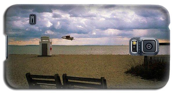 Gulf Beach Galaxy S5 Case by John Scates