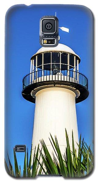 Gulf Coast Lighthouse Seascape Biloxi Ms 3819a Galaxy S5 Case