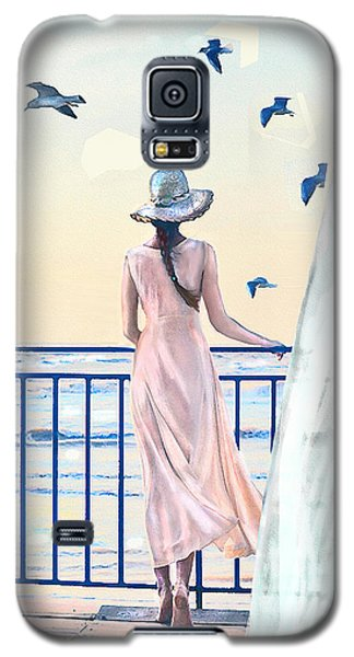 Gulf Coast Morning Galaxy S5 Case by Jane Schnetlage