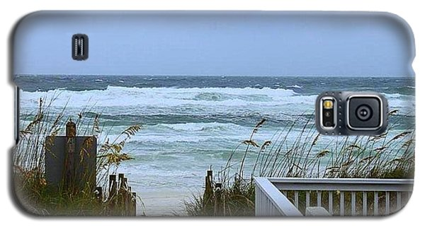Galaxy S5 Case featuring the photograph Gulf Coast Waves by Debra Forand
