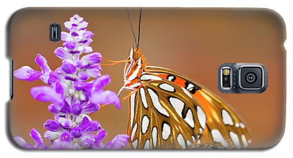 Gulf Fritillary Galaxy S5 Case by Shelley Neff