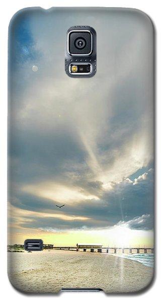 Gulf Shores Al Pier Seascape Sunrise 152a Galaxy S5 Case