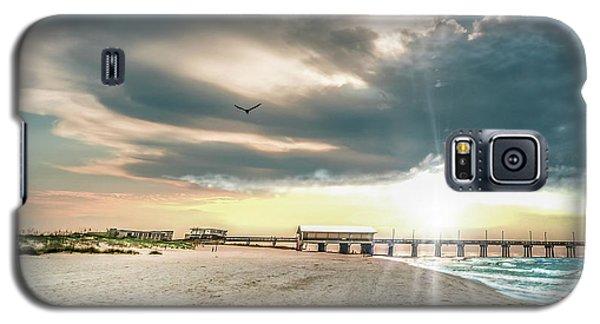 Gulf Shores Al Pier Seascape Sunrise 152c Galaxy S5 Case
