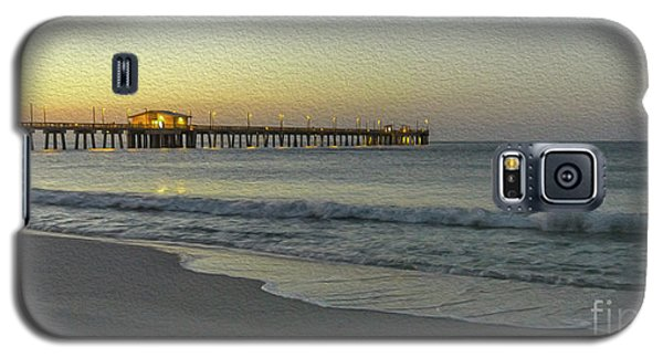 Gulf Shores Alabama Fishing Pier Digital Painting A82518 Galaxy S5 Case