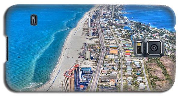 Gulf Shores Beach Looking W Galaxy S5 Case
